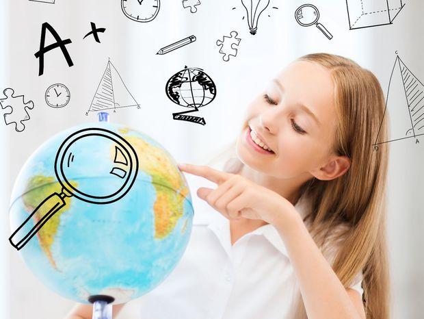 dievča, štúdium, stredná škola, zahraničie