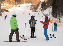 počasie, zima, lyžovanie