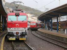 vlaky, ic, regiojet, železničná doprava