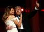 Americký prezident Donald Trump s manželkou Melaniou Trump
