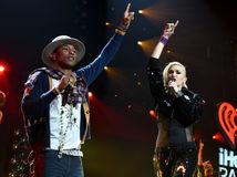 Pharrell Williams Gwen Stefani