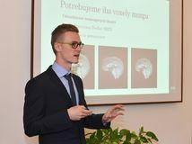Martin Tamajka, študent, STU, výskumník