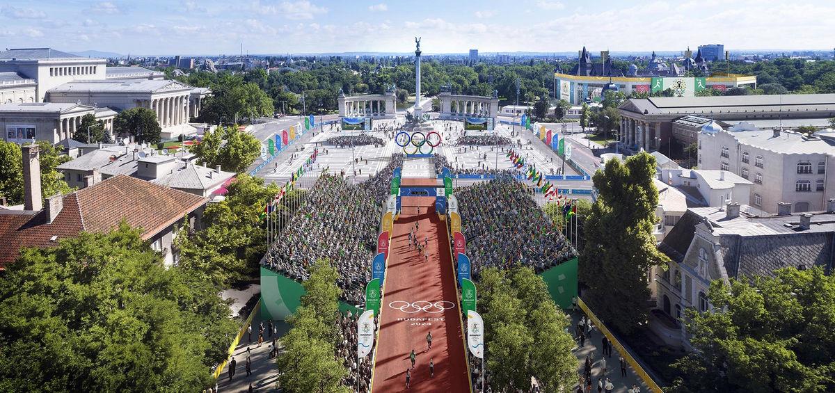 Prípravný výbor na svojich stránkach už zverejnil vizualizáciu jednotlivých športovísk zamýšľanej budapeštianskej olympiády.