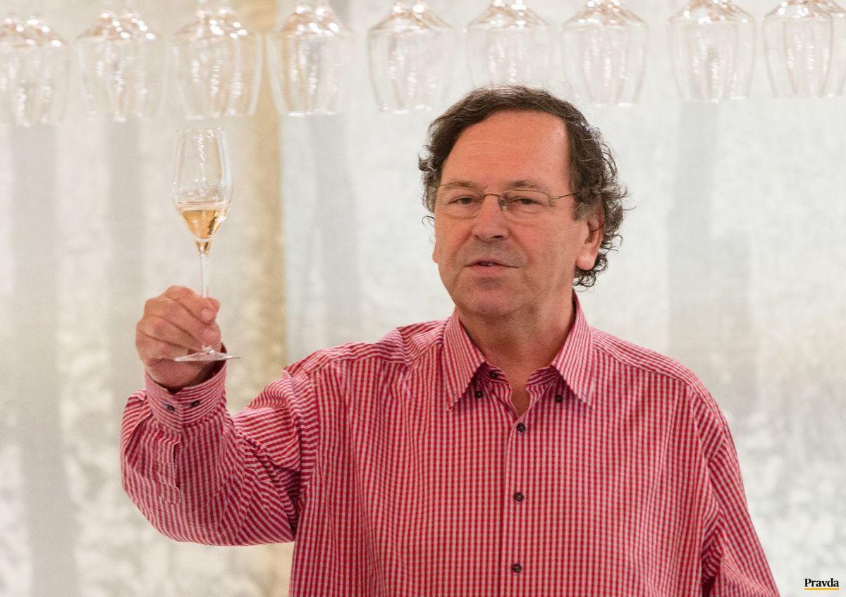 Dušan Pleško - znalec rizlingov a nemeckej vinárskej duše.