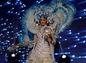 Súťažiaca Miss Universe z Venezuely Mariam Habach počas súťaže národných kostýmov.