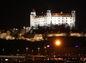 bratislavsky hrad, osvetlenie