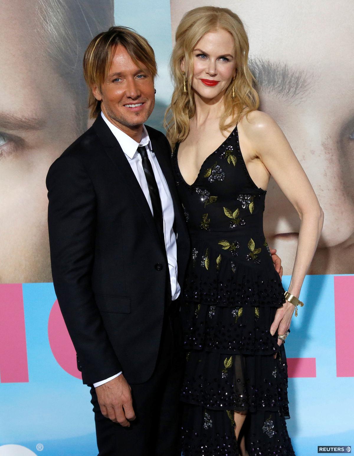 Herečka Nicole Kidman a jej manžel Keith Urban.