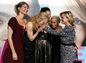Zľava: Laura Dern, Nicole Kidman, Shailene Woodley, Zoe Kravitz a Reese Witherspoon si spoločne zjavne veľmi dobre rozumejú.