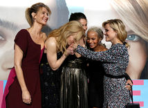 Laura Dern, Nicole Kidman, Shailene Woodley, Zoe Kravitz a Reese Witherspoon