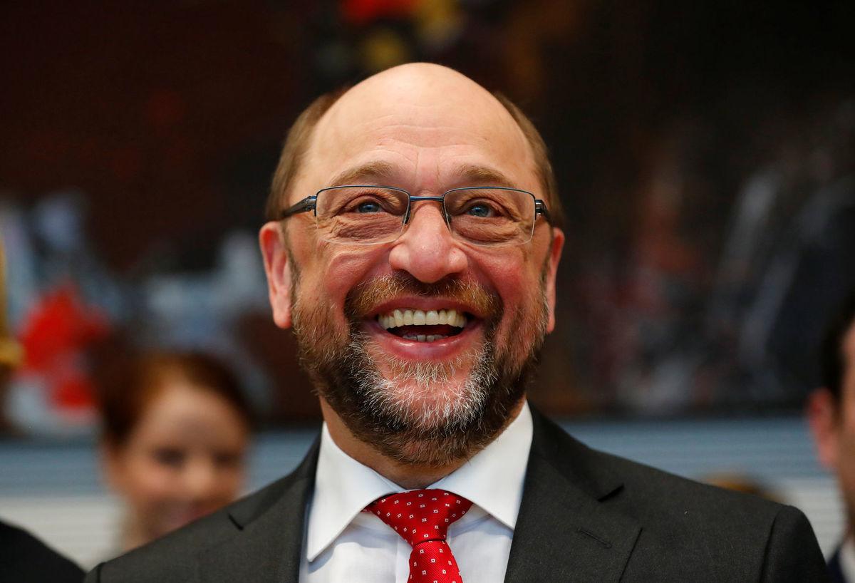 Martin Schulz, líder SPD a volebný vyzývateľ kancelárky Angely Merkelovej.