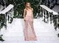 Modelka na prehliadke La Perla v New Yorku.