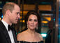 Princ William a vojvodkyňa Kate počas udeĺovania cien BAFTA.