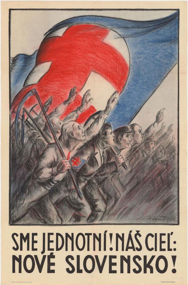 Predvolebný plagát ľudovej strany (1938).