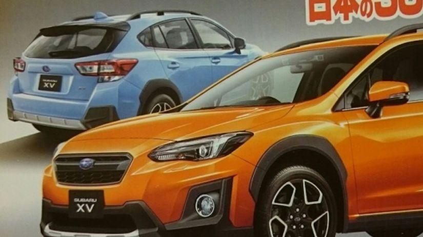 Subaru XV  Nová generácia odhalená. Vďaka uniknutej brožúre 05ea07e24e4