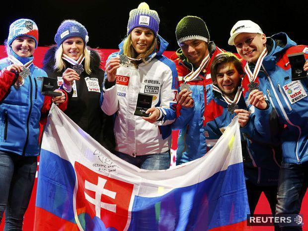 Tereza Jančová, Veronika Velez-Zuzulová, Petra Vlhová, Andreas Žampa, Matej Falat, Adam Žampa