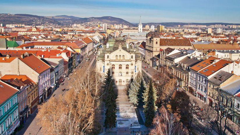 Košice zverejnili mapu bezbariérových trás