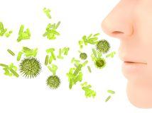 choroba, nadcha, bakterie, virus, chripka