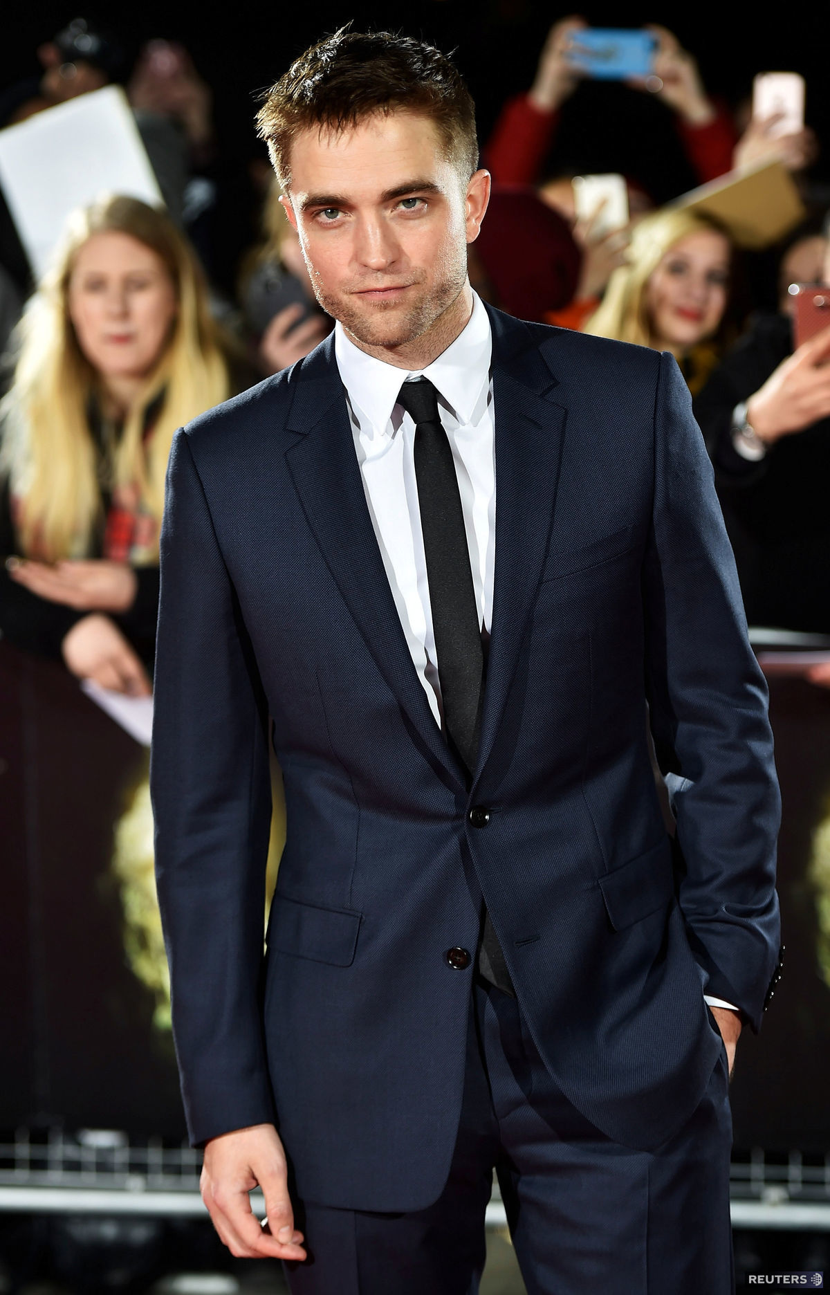 Herec Robert Pattinson.