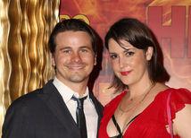 Herečka Melanie Lynskey so snúbencom Jasonom Ritterom.