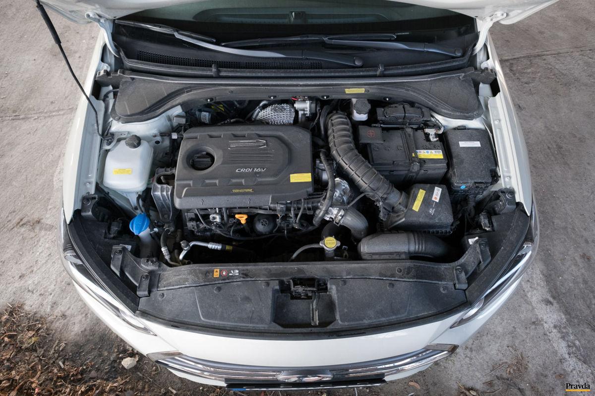 Naftový motor teší nízkou potrebou.