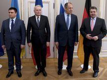 Prímerie na Donbase? Šéfovia štyroch diplomacií sa dohodli