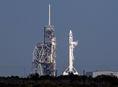 raketa, SpaceX, Falcon 9, Mys Canaveral, rampa