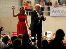 Trump, Melanie Trump