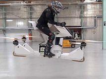 Hoversurf Scorpion: Neskutočné. Táto motorka vie lietať!