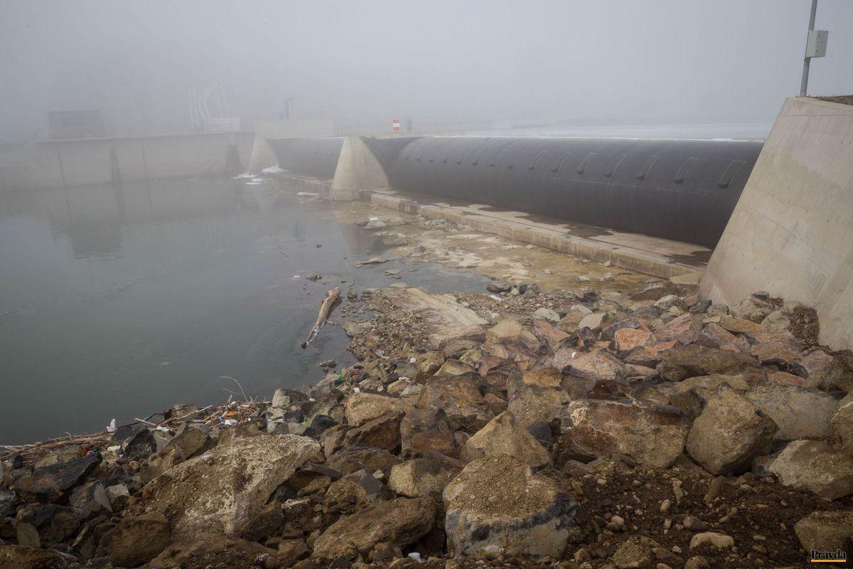 Malá vodná elektráreň Tekov.