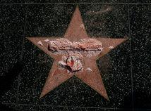 hviezda, Hollywood, Donald Trump, chodník slávy