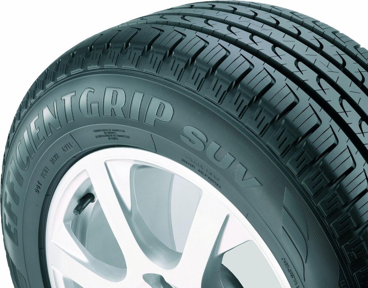 Víťazom testu je Goodyear EfficientGrip SUV s veľmi dobrými výsledkami na mokrej aj suchej vozovke. Navyše ide o celoročný plášť.