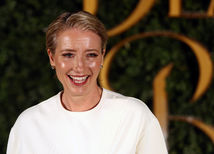 Herečka Emma Thompson.