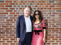 Herečka Salma Hayek a jej manžel Francois Henri Pinault.