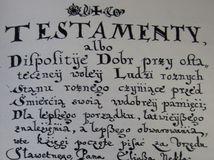 stará ľubovňa, testament