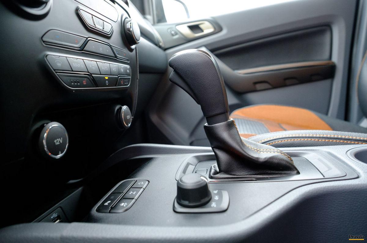 Automatická prevodovka nie je najlepšia voľba pre toto auto.
