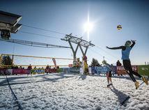Snežný volejbal