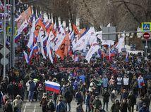 Nemcov, Boris Nemcov, demonštrácia, protest,