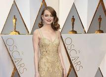 Herečka Emma Stone v kreácii Givenchy Haute Couture.