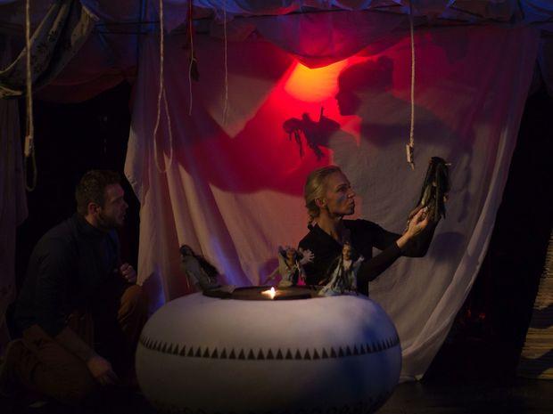 Indiánske rozprávky, Bábkové divadlo na Rázcestí v Banskej Bystrici