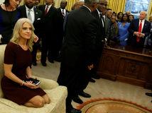 Kellyanne Conwayová, Oválna pracovňa, Biely dom, Trump