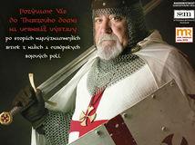 výstava Ohňom a mečom, pozvánka