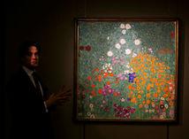 Gustav Klimt, obraz, Sotheby's, Bauerngarten