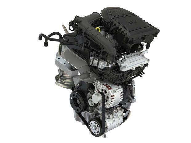 Nový 3-valcový motor ušetrí približne 0,3 litra benzínu na 100 km, pritom má vyšší krútiaci moment a je o 10 kg ľahší.