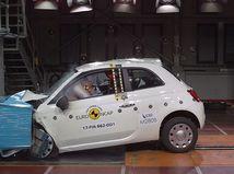 Euro NCAP: Fiat 500 a Ford Ka neuspeli. Citroën C3 má 'odreté uši'