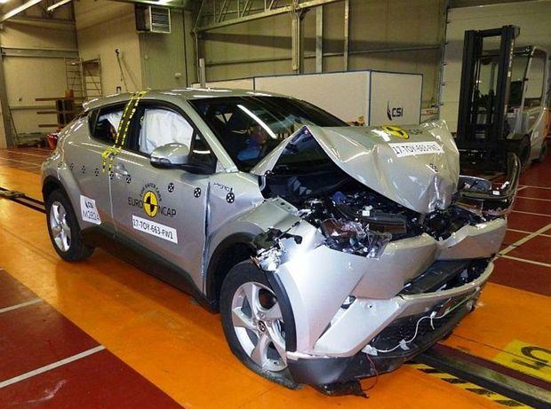 Toyota C-HR je jednoznačne hviezdou najnovšieho kola crashtestov. Podarilo sa jej prekonať oveľa drahších konkurentov ako Audi Q5 a Land Rover Discovery, a to až v troch kritériách s výnimkou ochrany detí. Ale aj tá bola veľmi slušná.