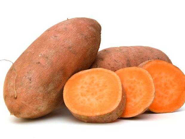 sladké zemiaky, zdravé potraviny