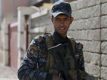 Irak, Mósul, policajt, vojak, armáda, IS