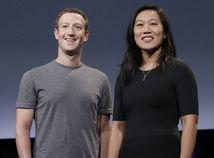 Mark Zuckerberg a jeho manželka Priscilla Chan.