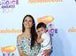 Herečka Jordana Brewster so svojím synčekom.