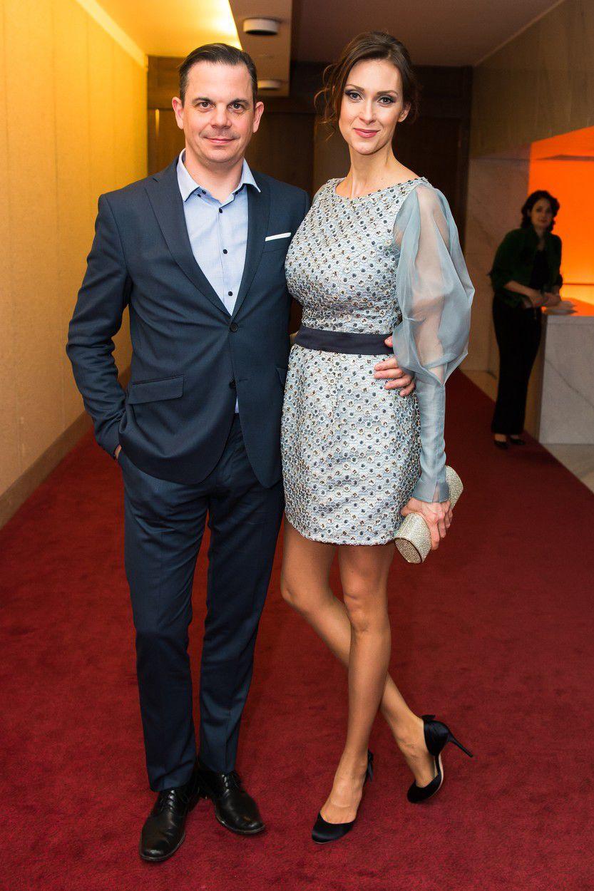 Scenárista a humorista Dano Dangl a jeho manželka Beáta.